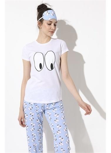 Armalife Pijama Takım Mavi